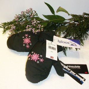 ❄️HP❄️IGLOOS Girl's XS/S Thinsulate Gloves NWT